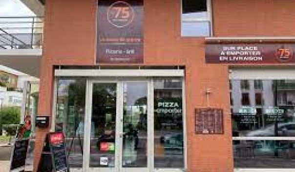 Restaurant Pizzeria Le 75 sur place emporter livraison pizza burger poulet